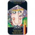 Prismacolor Premier Colored Pencil Set 24-piece Tin - Assorted by Sanford