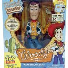 "Disney Pixar Signature Collection Toy Story 16"" Talking Sheriff Woody Action Figure by Thinkway Toys"