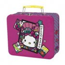 Retired Hello Kitty Aluminum Lunch Box Tin | Nugeisha Collection by Sanrio