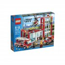 Retired LEGO City Fire 2013 Fire Station #60004 – 753 Pieces - Building Toy Set