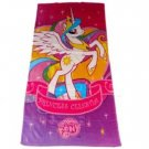 "MLP | My Little Pony Friendship is Magic Princess Celestia 28"" W x 58"" L Beach Towel by Hasbro"