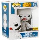 "Funko Star Wars Pop! Flocked #39 Wampa 6"" Vinyl Bobble-Head Hot Topic Exclusive"