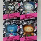 Set of 4 - Assorted Limited Edition 2013 tokidoki x Sanrio Characters Collectible Vinyl Figures