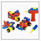 Toys R Us Exclusive - 2009 Bruin Junior Mechanic Build-A-Vehicle - 86 Pieces - Discontinued