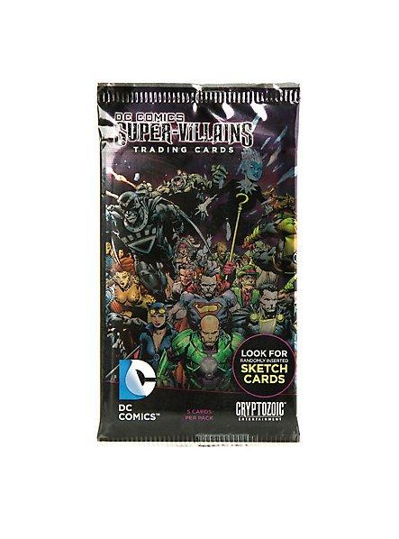 Cryptozoic Entertainment DC Comics Super-Villains Trading Cards (x21 Packs)