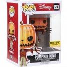 FUNKO Nightmare Before Christmas POP! #153 Pumpkin King Glow-In-The-Dark Figure Hot Topic Exclusive