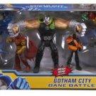 Batman Unlimited Gotham City Bane Battle Action Figures, 7-Pack