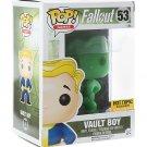 FUNKO Fallout Pop! Games Vault Boy #53 Glows in the Dark Vinyl Figure Hot Topic Exclusive