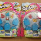 Lot of 2 - Shopkins Season 1 Mini Figure 5 Pack by Moose Toys