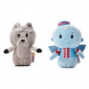 Hallmark Exclusive itty bittys Wizard of Oz Limited Edition Toto & Winged Monkey Stuffed Animal