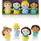 Retired Hallmark Exclusive itty bittys Disney Princess Stuffed Animal Collector Set