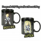 Dragon Ball z Vegeta Heat Reveal Reactive Color Changing Coffee Cup by Funimation