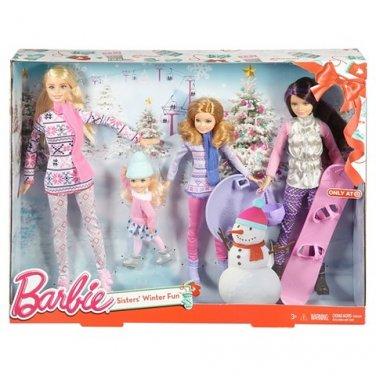 Barbie Sisters' Winter Fun - 2015 Target Exclusive by Mattel