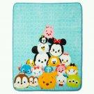 """Disney Tsum Tsum 50"""" x 60"""" Plush Throw Blanket - Multicolor"""