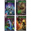 Set of 4 TMNT Teenage Mutant Ninja Turtles Ghostbusters Comic 1, 2, 3, & 4 Hot Topic Exclusive