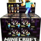 "Mojang Minecraft Obsidian Series 4 - 1"" MiniFigures Mystery Blind Box Case of x36 Sealed by Mattel"