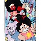 "Retired Cartoon Network Steven Universe Crystal Gems 48""×60"" Throw Blanket"