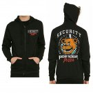 Five Nights at Freddy's FNAF Freddy Fazbear's Pizza Security Men's Zip Hoodie Jacket - Large
