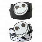 Disney The Nightmare Before Christmas NBC Jack Reversible Belt & Buckle Combo