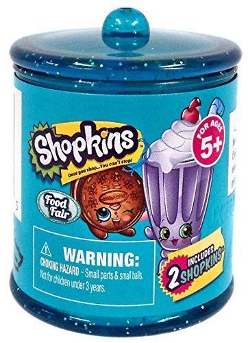 Lot of 15 - Shopkins Season 4 Food Fair 2 Pack Jar Container Blind Pack - Walmart Exclusive - Sealed