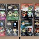 FUNKO POP! Adult Collectible Metal Pin Set of 16 Batman, DC Comics, Arrow, & Flash