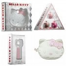 Lot of 4 Retired Hello Kitty x Sephora Ruby Compact Mirror & Fragrance, Lip Balm Set + Cosmetic Case