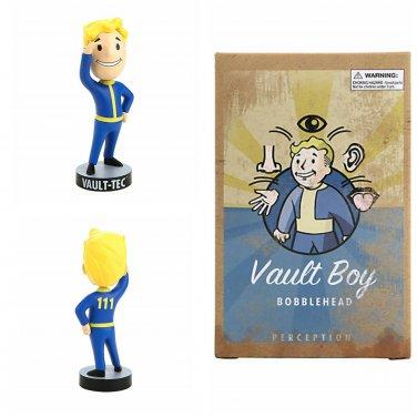 "Fallout 4 Series 1 Collectible Vault-Tec Vault Boy #111 Perception 5"" Bobblehead Figure"