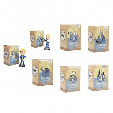 Bethesda Fallout 3: Vault Boy 101 Bobblehead - Series 3 Three Complete Set of 7 by Gaming Heads