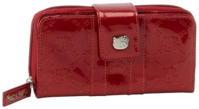 Loungefly Sanrio Hello Kitty Tango Red Embossed Wallet