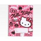 Sanrio Hello Kitty Spiral Notebook: Squiggle Collection