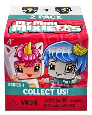 Mattel Mini MixieQ's Series 1 Mystery Blind Surprise 2-Pack Figures Case of �36 Sealed Boxes