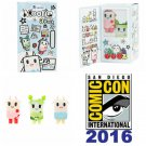 tokidoki Moofia Figure 3 Pack SDCC 2016 Summer Convention Exclusive designed by Simone Legno