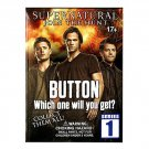 Supernatural Series 1 Collector Button Pin Mystery Blind Bag ×15 Sealed Packs