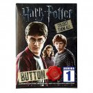 Harry Potter Series 1 Collector Buttom Pin Mystery Blind Bag ×15 Sealed Packs