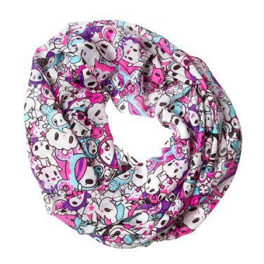 Retired Neon Star Collection by tokidoki Black & White Infinity Scarf