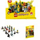 Lot of 10 - Lego Minifigures Characters Series 16 Mystery Blind Bag #71013 Sealed Packs