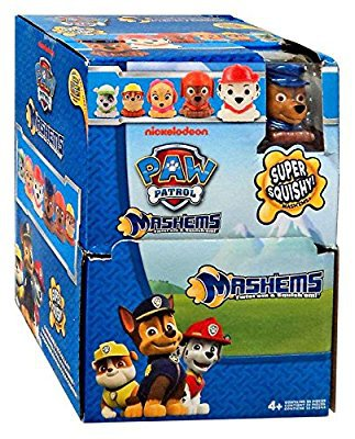 Nickelodeon Paw Patrol Mashems Fashems Blind Pack Capsules Series 2 �23 Sealed + Retail Display Box
