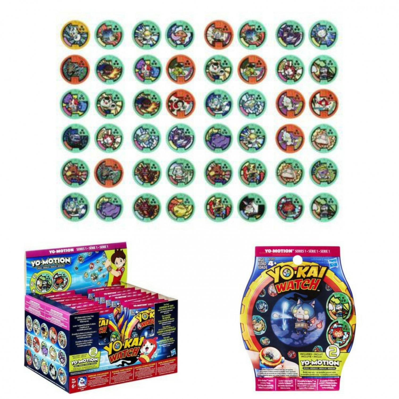 Yokai Watch Series 1 Yo-Motion Medal Mystery Blind Bag �24 Sealed Packs