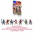 Retired Mega Bloks Power Rangers Super Megaforce Series 2 Figures Mystery Blind Collector Pack ×14