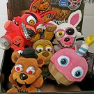 Funko Five Nights At Freddy's Set of 5 Plush Cupcake Nightmare Freddy & Foxy Spring Trap Mangle