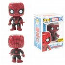 Funko Marvel Pop! #03 Spider-Man (Red & Black Suit) Vinyl Bobble-Head Hot Topic Exclusive