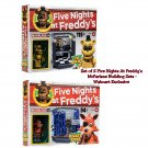 Set of 2 Five Nights At Freddy's Golden Freddy Office & Foxy Pirate Cove - McFarlane Buildable Sets