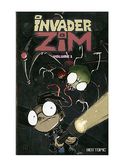 Invader Zim Volume 1 Trade Paperback Hot Topic Exclusive