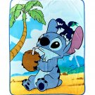 "Disney Lilo & Stitch Coconut 48"" × 60"" Super Plush Throw Blanket"