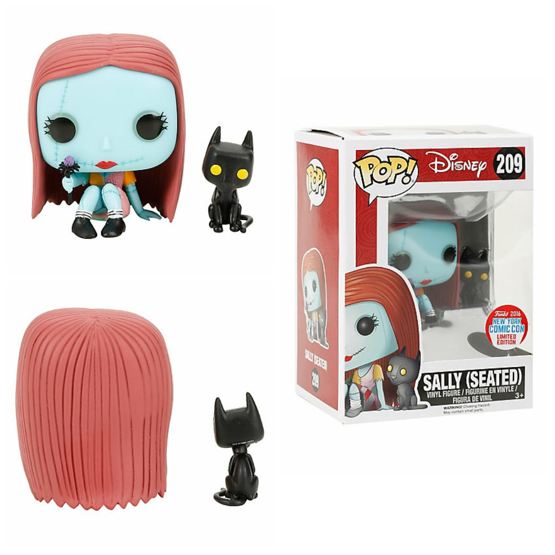 Funko Nightmare Before Christmas POP! Sally (Seated) Figure 2016 New York Comic Con Limited Edition