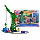 Thomas & Friends TrackMaster Motorized Railway Complete Playset - Cranky & Flynn Save the Day!