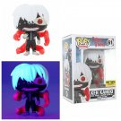 FUNKO Tokyo Ghoul POP! #61 Glow-In-The-Dark Ken Kaneki Vinyl Figure Hot Topic Exclusive