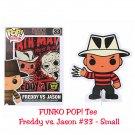 FUNKO Movie POP! #33 Freddy Vs. Jason Short Sleeve T-Shirt - Small Hot Topic Exclusive, Black