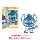 FUNKO Disney Lilo & Stitch POP! #12 Elvis Stitch Short Sleeve T-Shirt - Large Hot Topic Exclusive