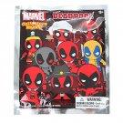 Marvel Deadpool Series 3D Collectors Keyring Keychain Blind Bag - ×11 Sealed Packs